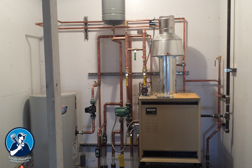 Boilers and Boiler Systems | LaSalle Plumbing and Renovations